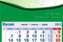 kalendarz skok