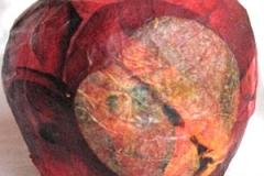 papier-mache jablko1